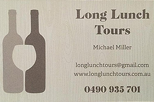 Long Lunch Tours
